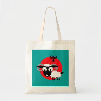 Chinese Year of the Ram Fun Gift Tote Bags