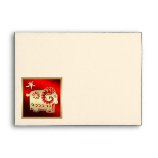 Chinese Year of the Ram / Goat / Sheep Envelopes