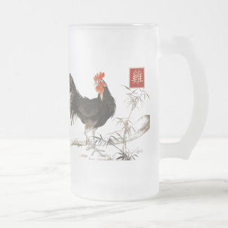 Chinese Year of the Rooster Gift Beer Mugs