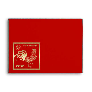 Chinese Year of the Rooster Red Envelopes