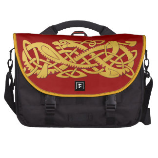 Chinese Year Of The Snake Commuter Laptop Bag