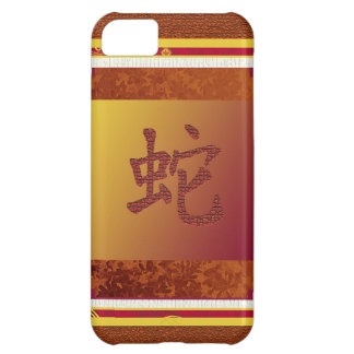 chinese year of the snake sign iPhone 5C cover