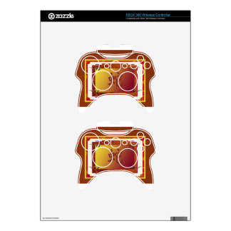 chinese year of the snake sign xbox 360 controller decal