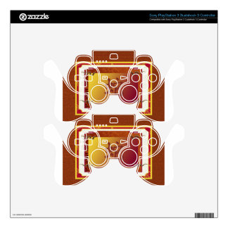 chinese year of the snake sign PS3 controller decals