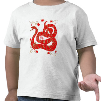 Chinese Year of the Snake T Shirts