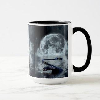Chinese Year of the Snake Water Snake Black Snake Mug