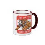 Chinese Year of The Tiger 1950 Gift Coffee Mug