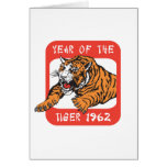 Chinese Year of The Tiger 1962 Gift Greeting Cards