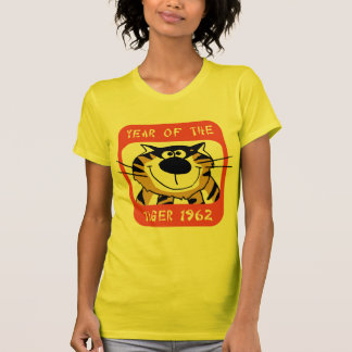 chinese year of the tiger 1962 t shirt - Chinese New Year 1962