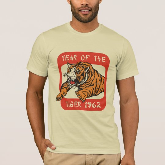 Chinese Year of The Tiger 1962 T-Shirts
