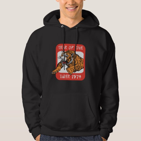 Chinese Year Of The Tiger 1974 Black T-Shirts