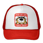 Chinese Year of The Tiger 1974 Gift Trucker Hats