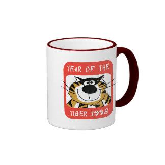 Chinese Year of The Tiger 1998 Gift Ringer Mug