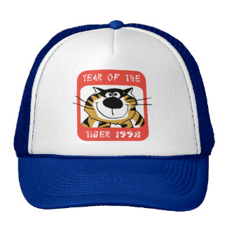 Chinese Year of The Tiger 1998 Gift Trucker Hat