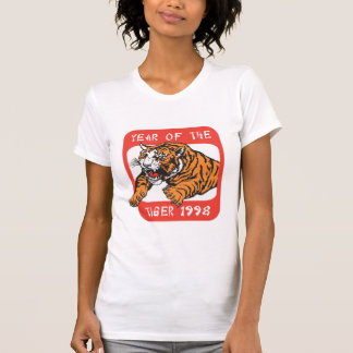 Chinese Year of The Tiger 1998 T-Shirts