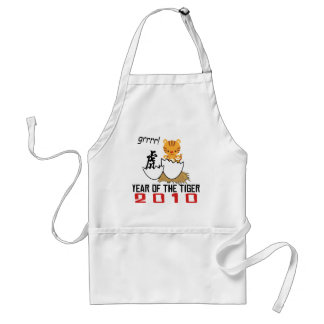 Chinese Year of The Tiger 2010 Baby Adult Apron