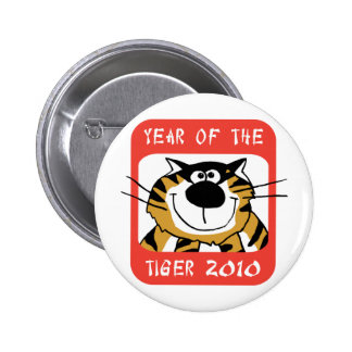 Chinese Year of The Tiger 2010 Pin