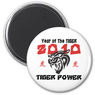 Chinese Year of The Tiger 2010 Magnets