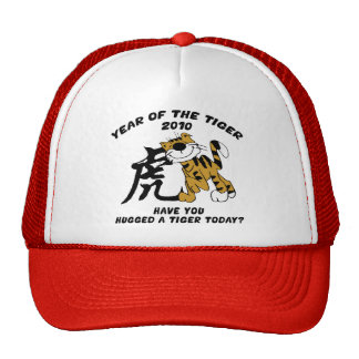Chinese Year of The Tiger 2010 Mesh Hat