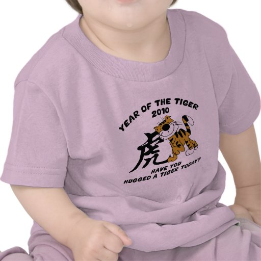 Chinese Year of The Tiger 2010 T-Shirts T Shirts