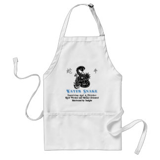 Chinese Year of The Water Snake 1953 2013 Adult Apron