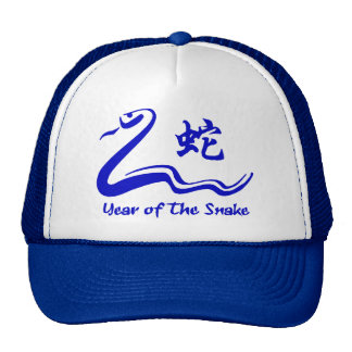 Chinese Year of The Water Snake 1953 2013 Trucker Hats