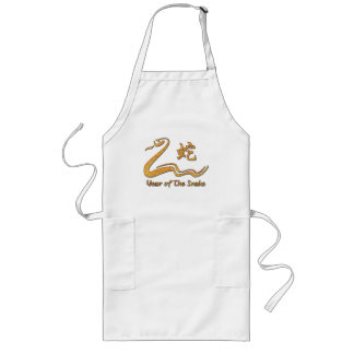 Chinese Year of The Wood Snake 1965 Long Apron