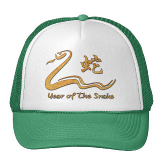 Chinese Year of The Wood Snake 1965 Trucker Hat
