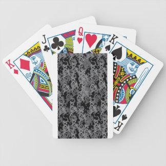 Chinese Ying Yang Dragon Bicycle Poker Cards
