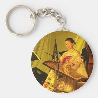 Chinese zither player, YUST, Yanji, Jilin Key Chains