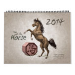 Chinese Zodiac 2014: The Year of the Horse Wall Calendars