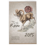 Chinese Zodiac 2015: The Year of the Ram Wall Calendars