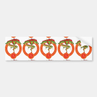 Chinese Zodiac Animal - Dragon Bumper Sticker