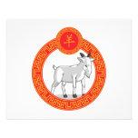 Chinese Zodiac Animal - Goat Custom Flyer
