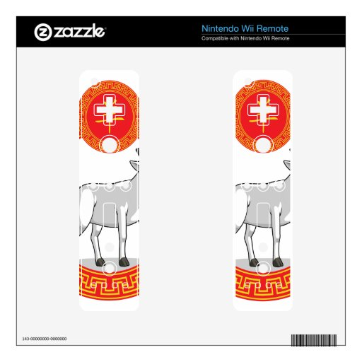 Chinese Zodiac Animal - Goat Wii Remote Decals