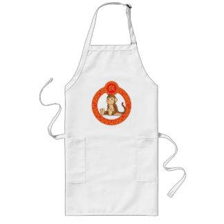Chinese Zodiac Animal - Monkey Long Apron