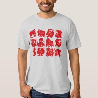 Chinese Zodiac Animals Shirt