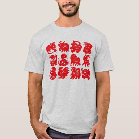 Chinese Zodiac Animals T-Shirt