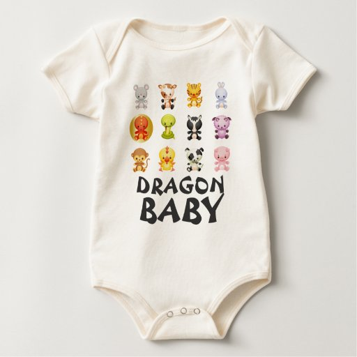 Chinese Zodiac Animals Year of the Dragon Baby Creeper