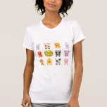Chinese Zodiac Animals Year of the Snake Tee Shirts