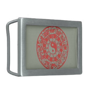 """Chinese Zodiac"" Belt Buckle"