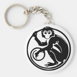 Chinese Zodiac Calender Monkey 猴 Keychain