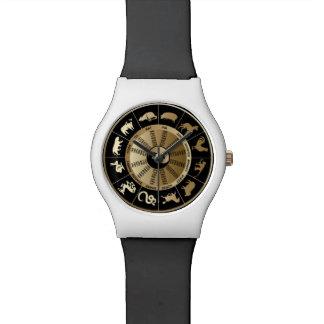 Chinese Zodiac Chart Wristwatches