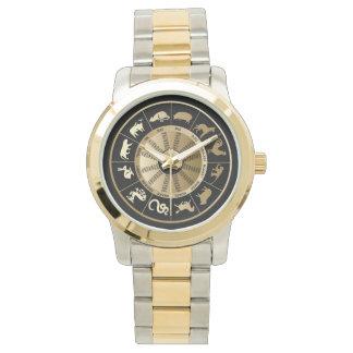 Chinese Zodiac Chart Wrist Watch