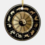 Chinese Zodiac Christmas Ornaments