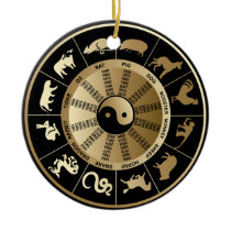 Chinese Zodiac Christmas Ornaments