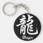 Chinese Zodiac Dragon Character Keychain