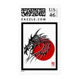 Chinese Zodiac Dragon Chinese New Year 2012 Stamp