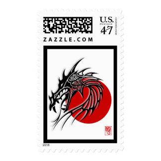 Chinese Zodiac Dragon Chinese New Year 2012 Postage Stamp
