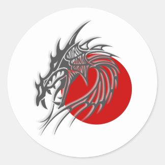Chinese Zodiac - Dragon Classic Round Sticker